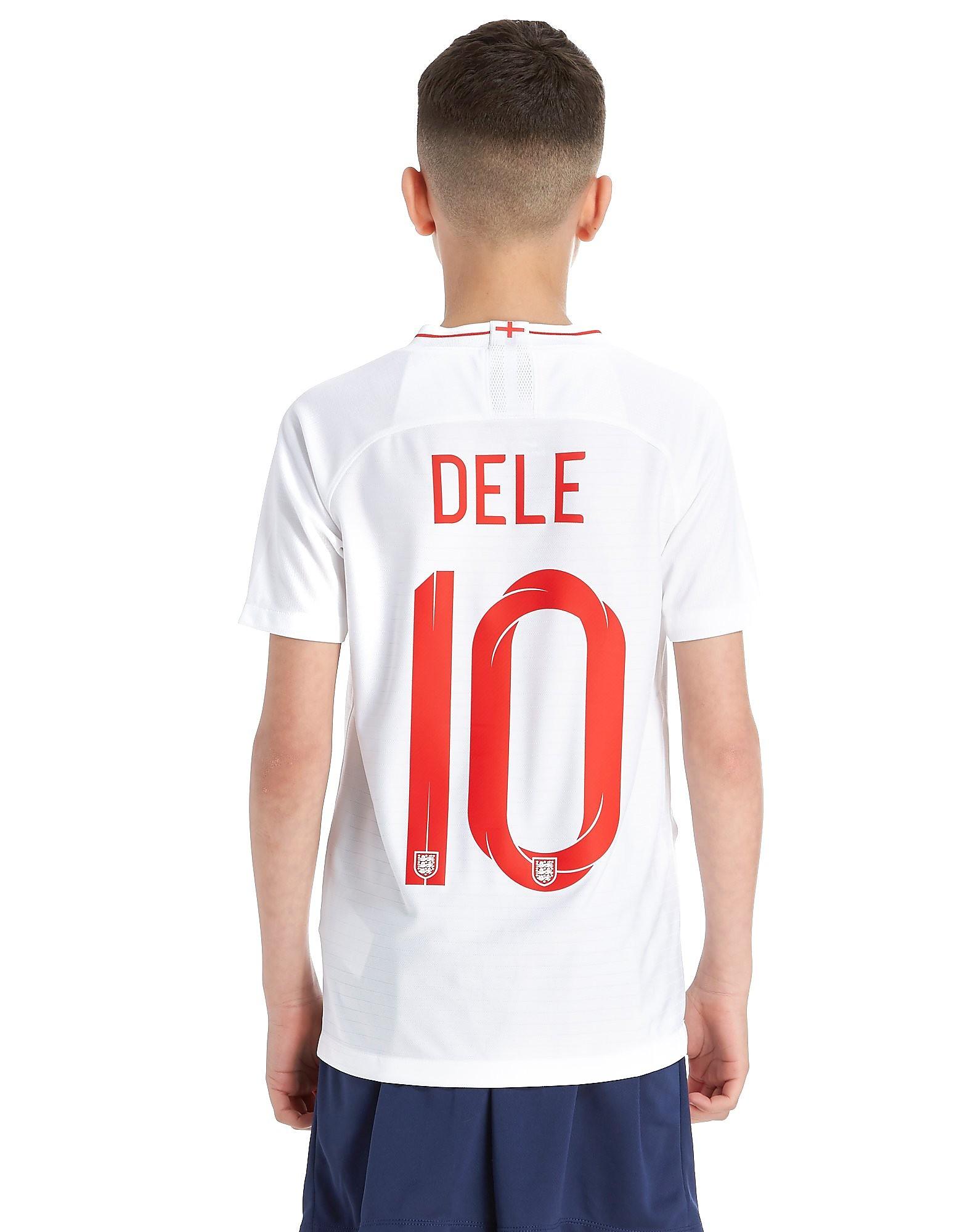 Nike England 2018 Dele #10 Home Shirt Junior