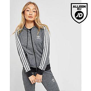 1a4e39ed71b adidas Originals 3-Stripes Full Zip Hoodie Dames
