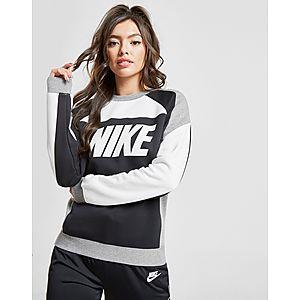 b36156b5c1a7 Nike Sportswear Colour Block Crew Sweatshirt Dames ...