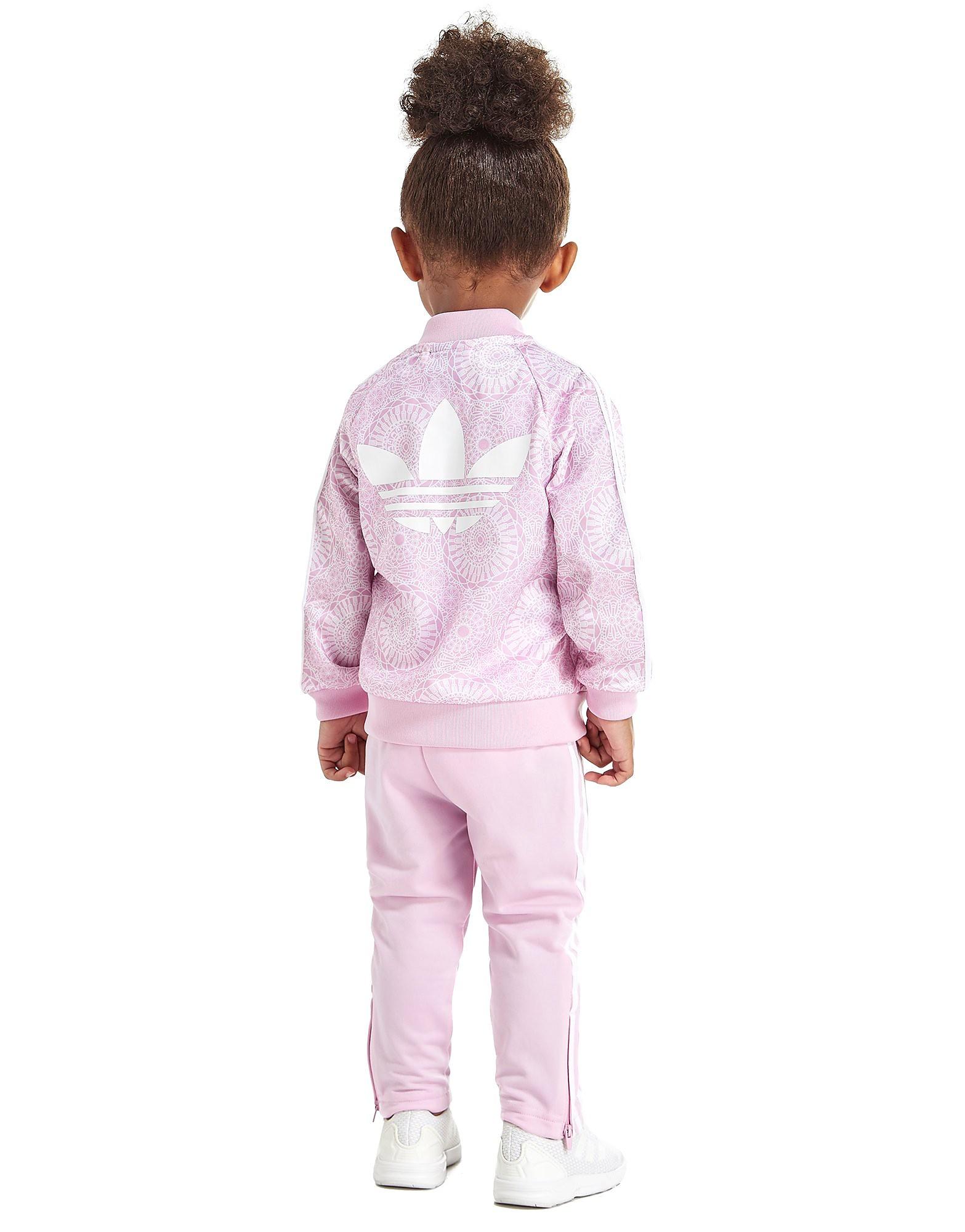 adidas Originals Girls' All Over Print Superstar Tracksuit Baby's