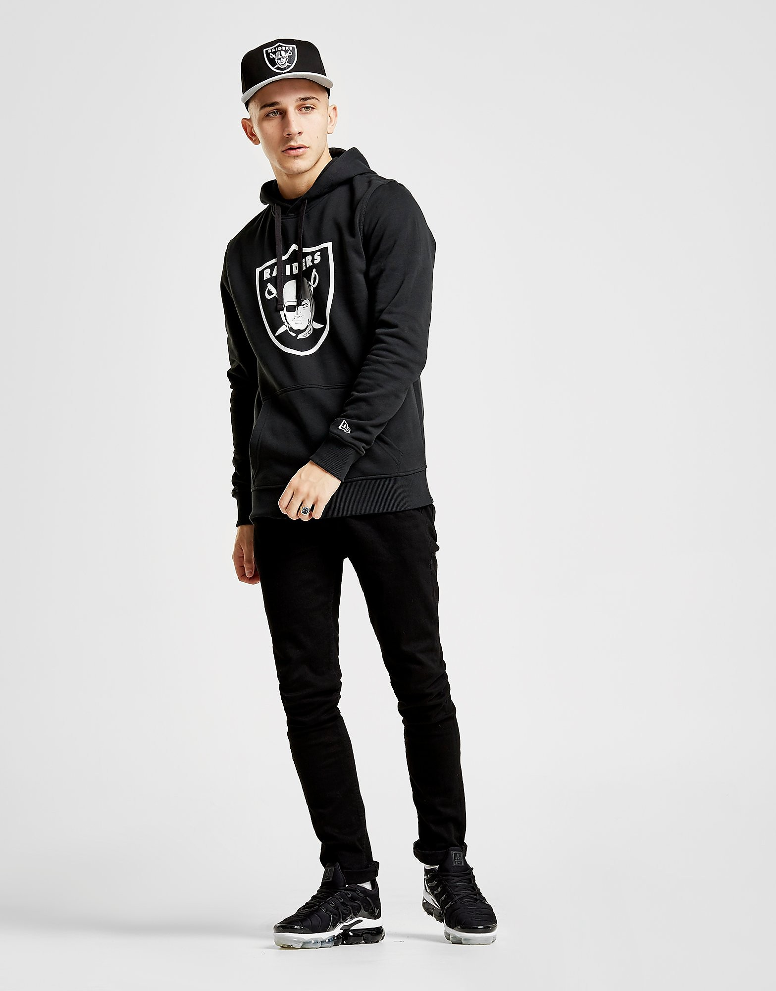 New Era NFL Oakland Raiders Overhead Hoodie