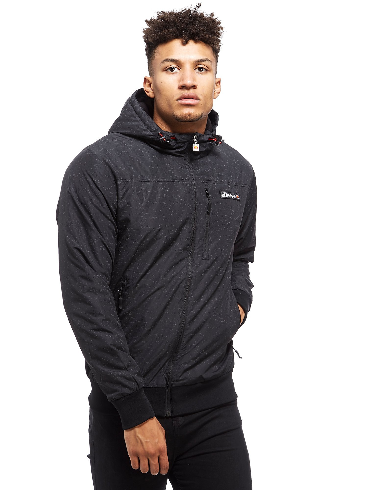 Ellesse Domeno All-Over Reflect Jacket Heren
