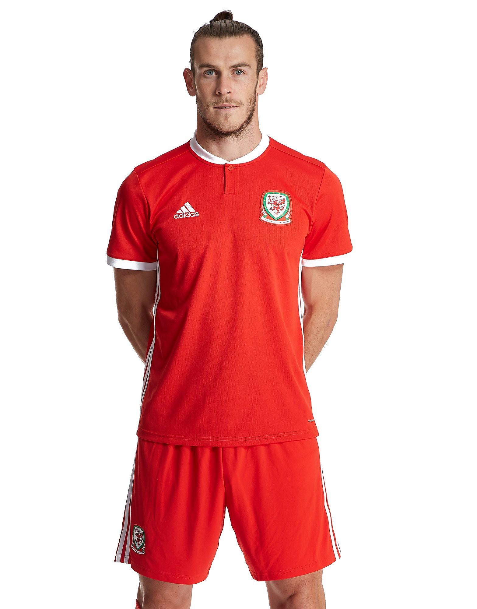 adidas Wales 2017/18 Home Shirt Heren