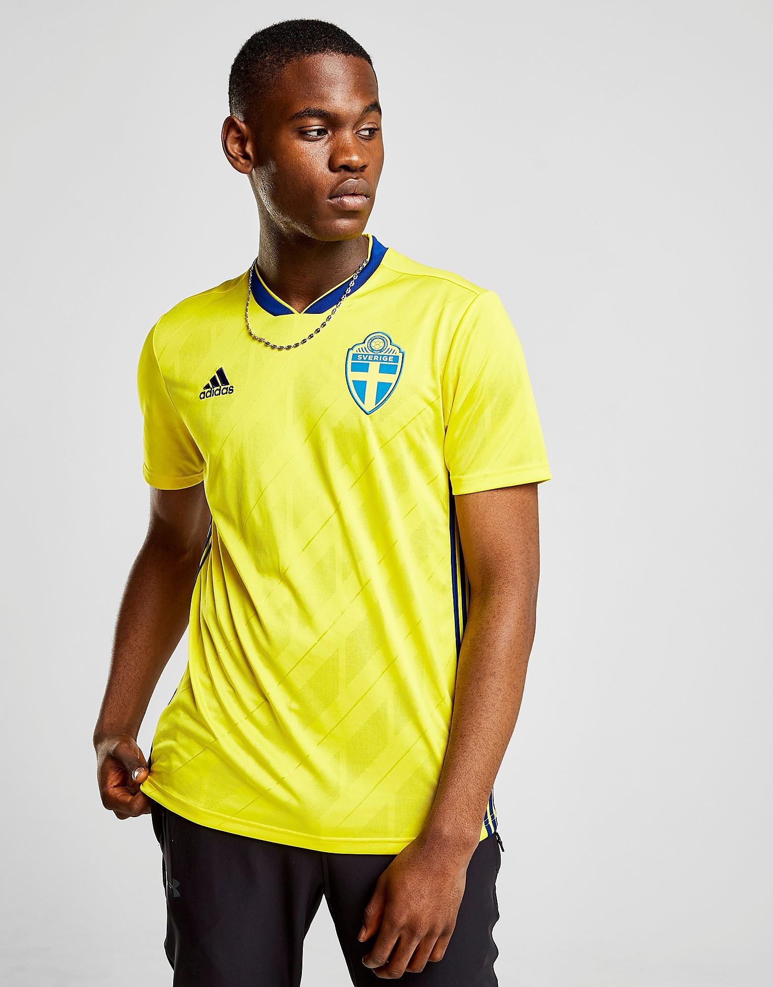 adidas Sweden 2017/18 Home Shirt Heren