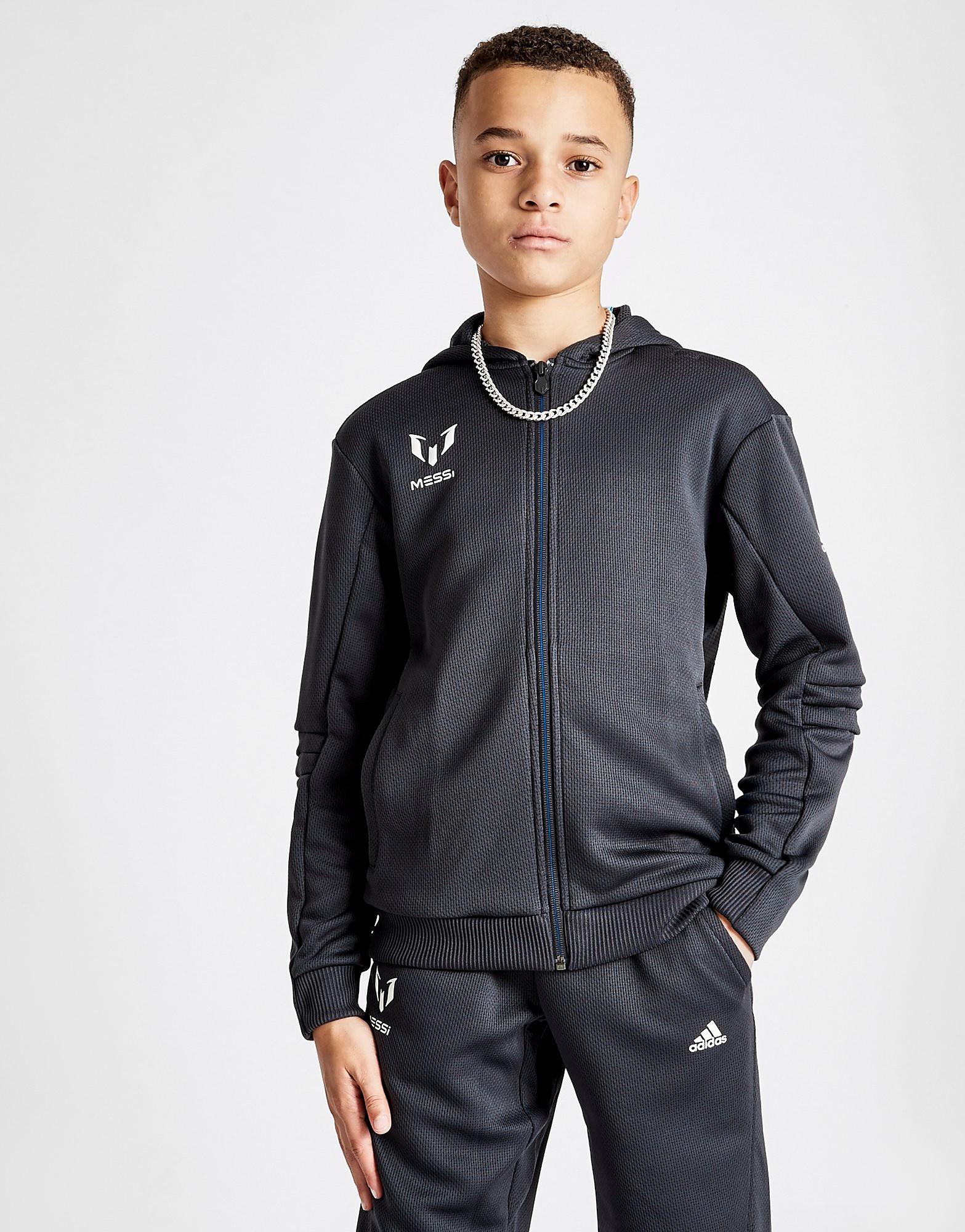 adidas Messi Full Zip Hoodie Junior