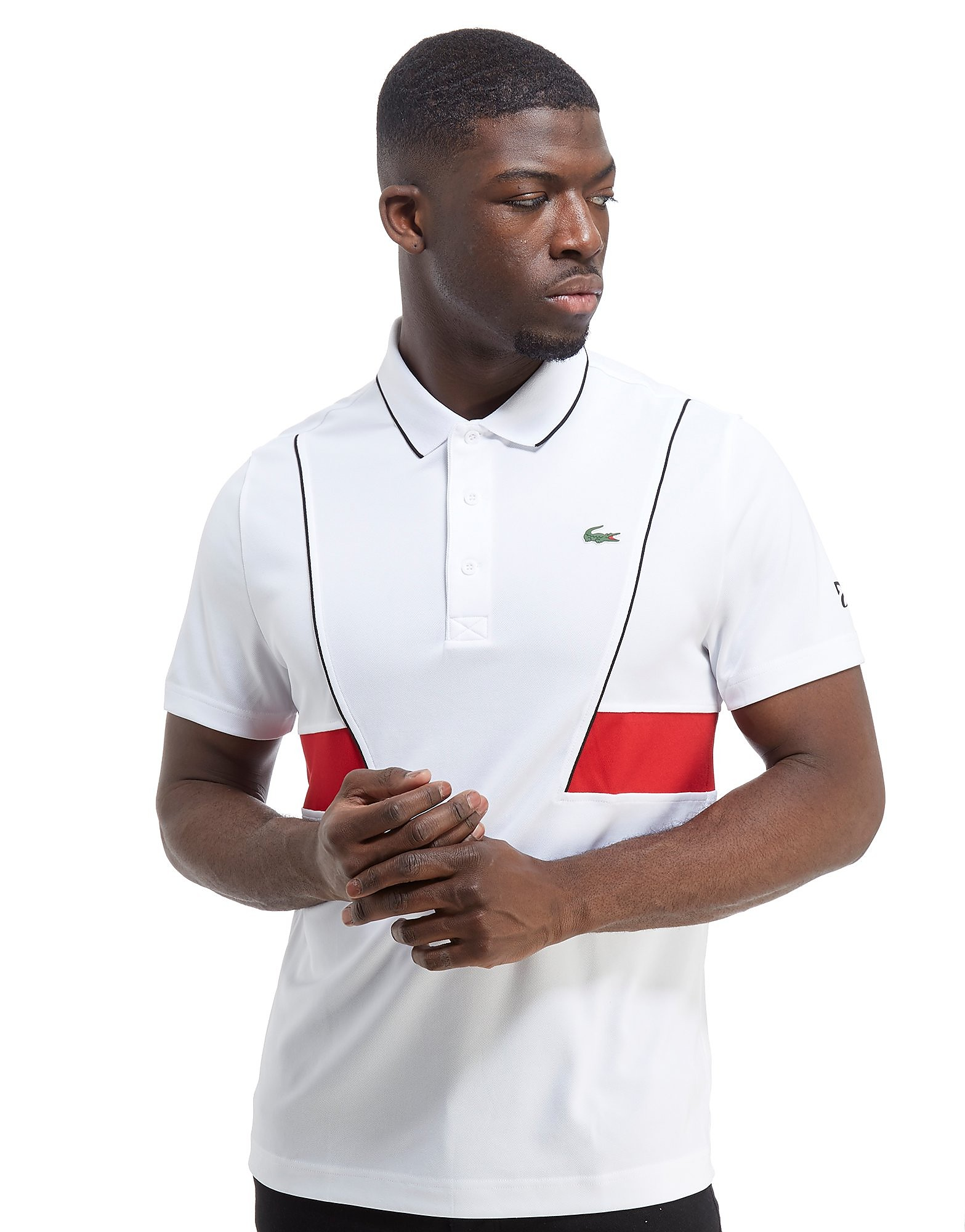 Lacoste Side Panel Poly Polo Shirt