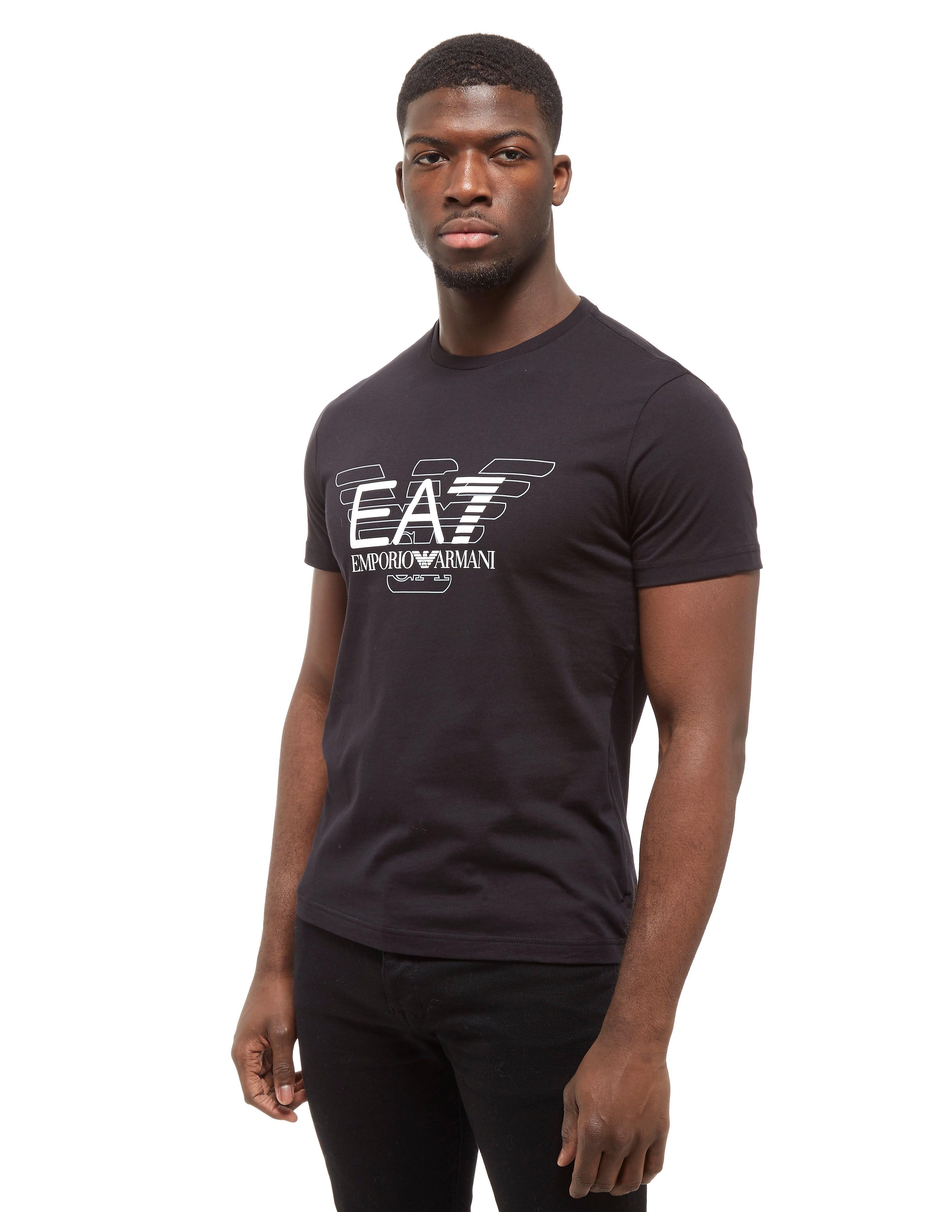Emporio Armani EA7 Short Sleeve Large Eagle T-Shirt
