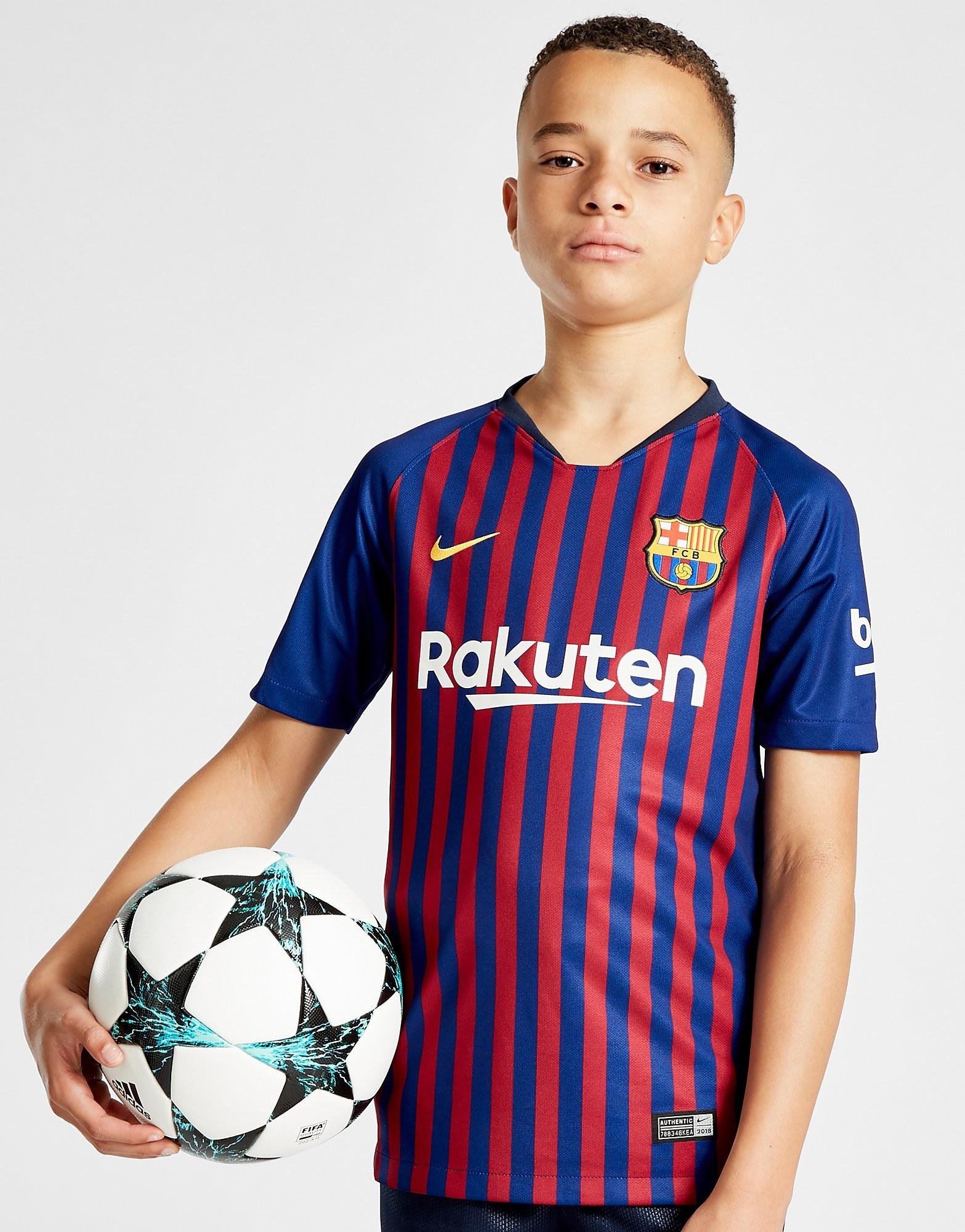 Nike FC Barcelona 2018/19 Hemmatröja Junior