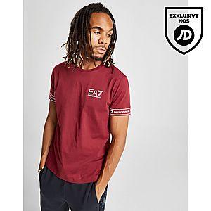 save off 4d75b d669a ... Emporio Armani EA7 Short Sleeve Tape T-Shirt