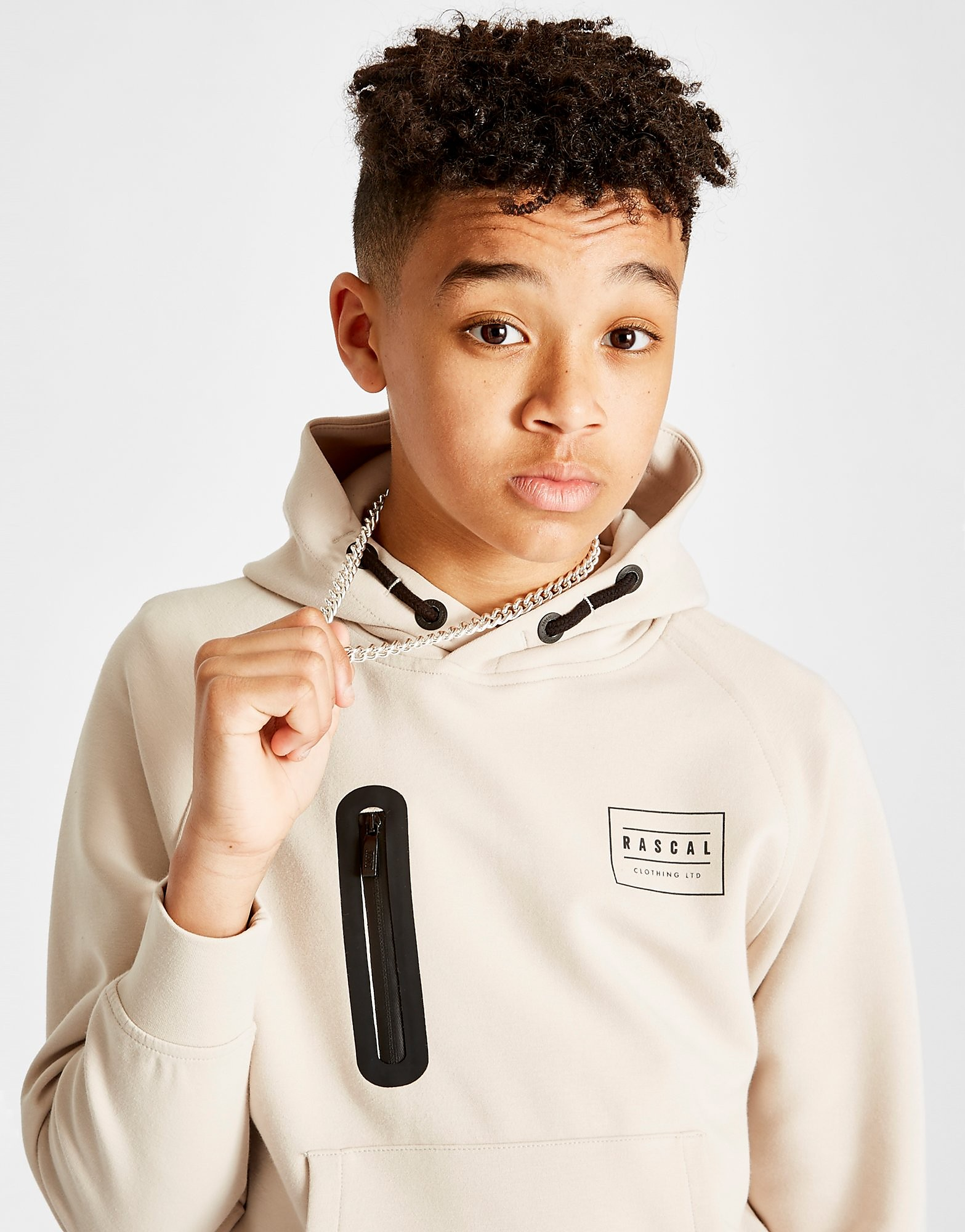 Rascal Quest Poly Overhead Hoodie Junior