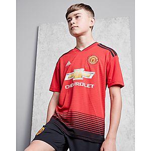timeless design d4817 66b24 adidas Manchester United FC 2018 19 Hemmatröja Junior ...