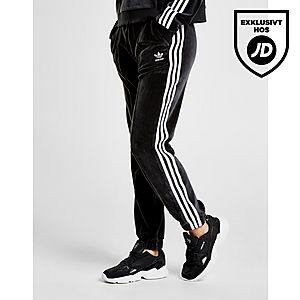 adidas Originals 3-Stripes Velvet Träningsbyxor ... 7be65f91dacb1