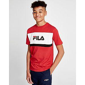 Fila Atreo Colour Block T-Shirt Junior ... e421820b98e43