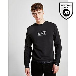 Emporio Armani EA7 Tape Crew Sweatshirt ... b548f30a86e3e