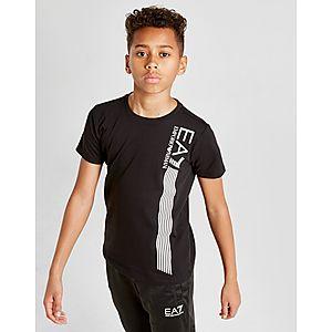 Emporio Armani EA7 7 Lines T-Shirt Junior ... bb299e85f8eb6