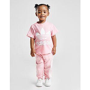 online store ce352 a8b61 ... adidas Originals Girls  Trefoil T-Shirt Infant