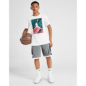 premium selection 24b3a 0120e Jordan Authentic Poly Shorts Junior Jordan Authentic Poly Shorts Junior