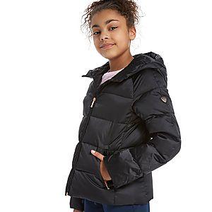 Emporio Armani EA7 Girls  Shiny Down Jacket Junior ... 63a6cc1853f50