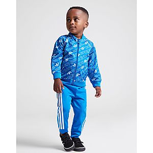 adidas Originals Mono All Over Print Superstar Tracksuit Infant ... 1aecc2f188