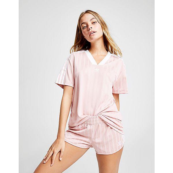 37d1661cbb3a adidas Originals Stripe Football T-Shirt