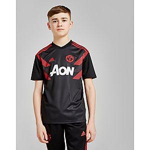 adidas Manchester United FC Pre-Match Shirt Junior ... a897f2a9392b