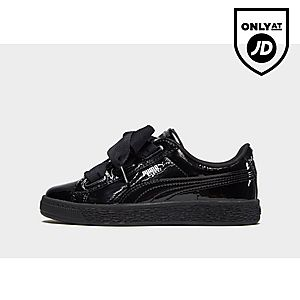 ef93db543ca18a Puma Basket Heart Patent Children ...