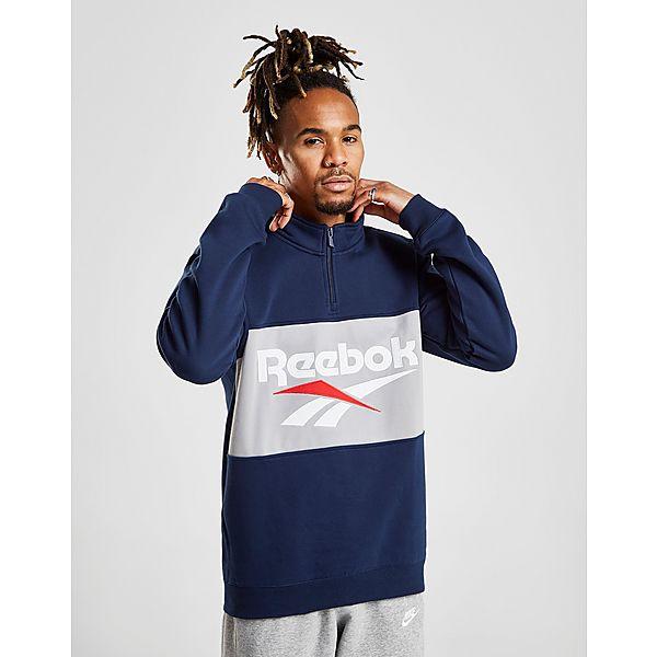 5d94c6f1024 Reebok Vector 1 2 Zip Fleece Sweatshirt