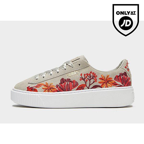 842a1823a20 Puma Suede Platform Floral Women s