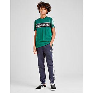 ... adidas Originals Linear Logo T-Shirt Junior 09abde61bb51
