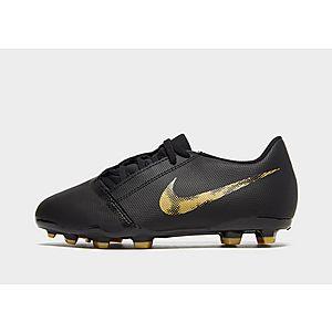 Nike Black Lux Phantom Venom Club FG Junior ... fc96f5858
