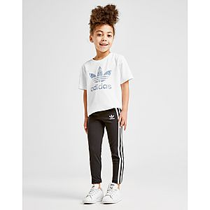 ... adidas Originals Girls  3-Stripes Leggings Children 4ad97e044d3