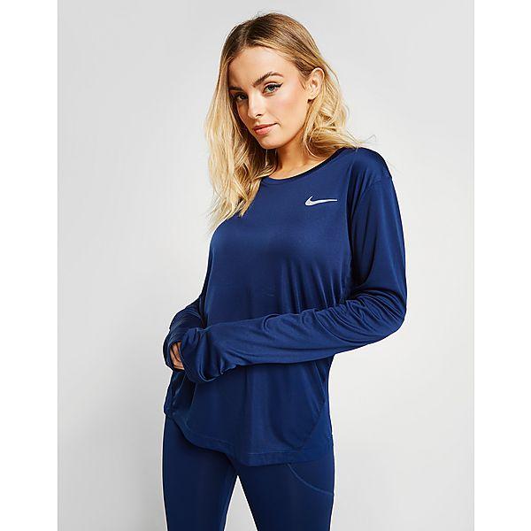 dfde928a7 Nike Women's Miler Long-Sleeve Top | JD Sports
