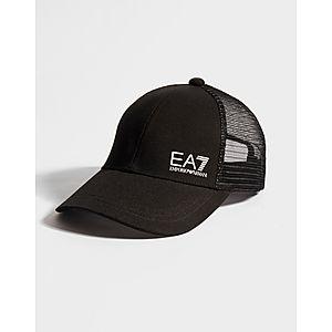 ecb2aa2ee8b ... Emporio Armani EA7 Core ID Trucker Cap