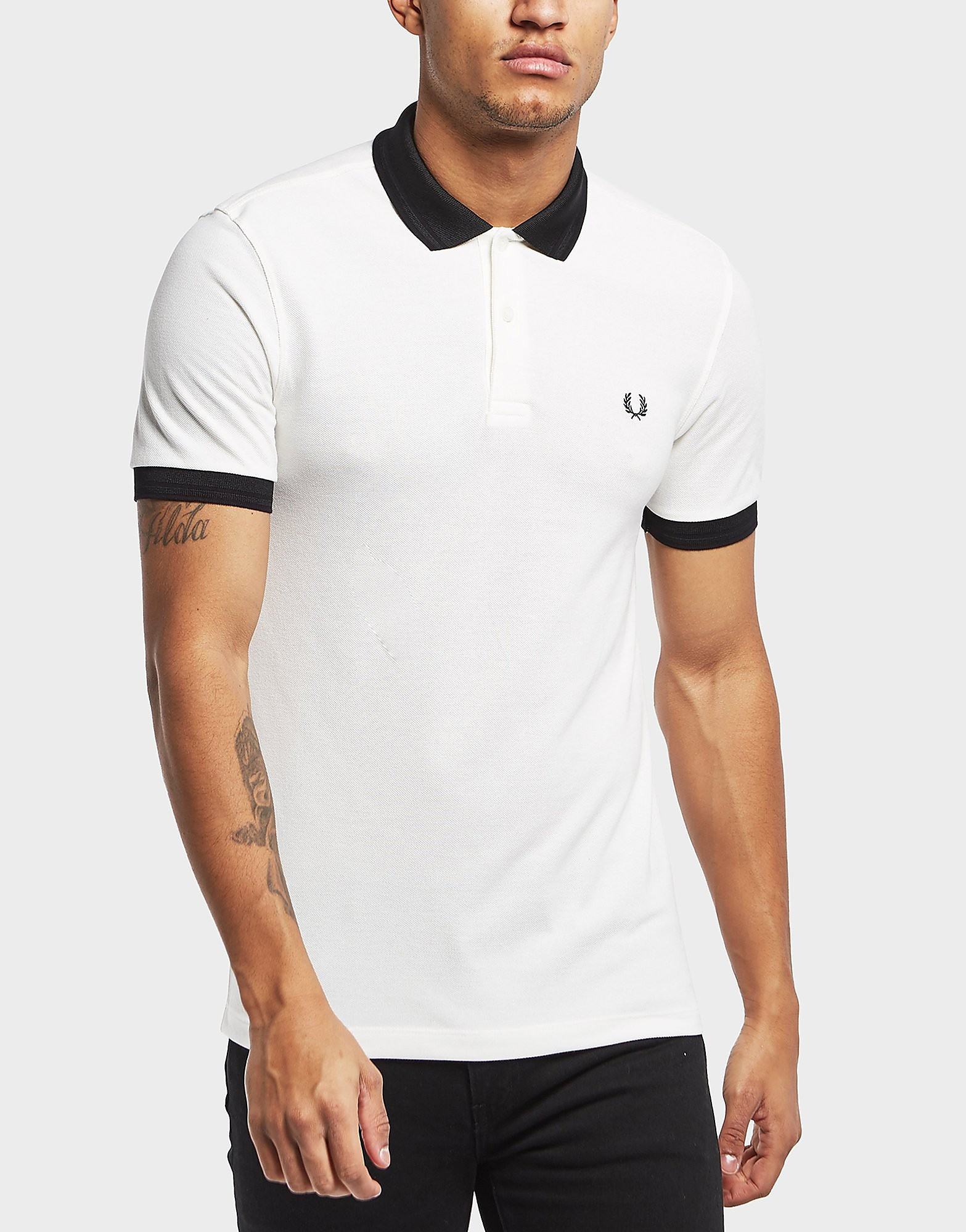 Fred Perry Matt Tip Short Sleeve Polo Shirt