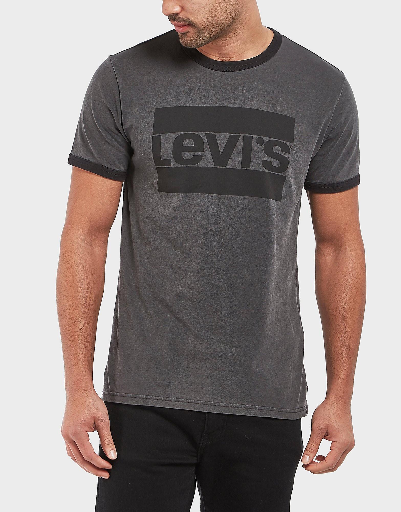 Levis Logo Ringer Short Sleeve T-Shirt