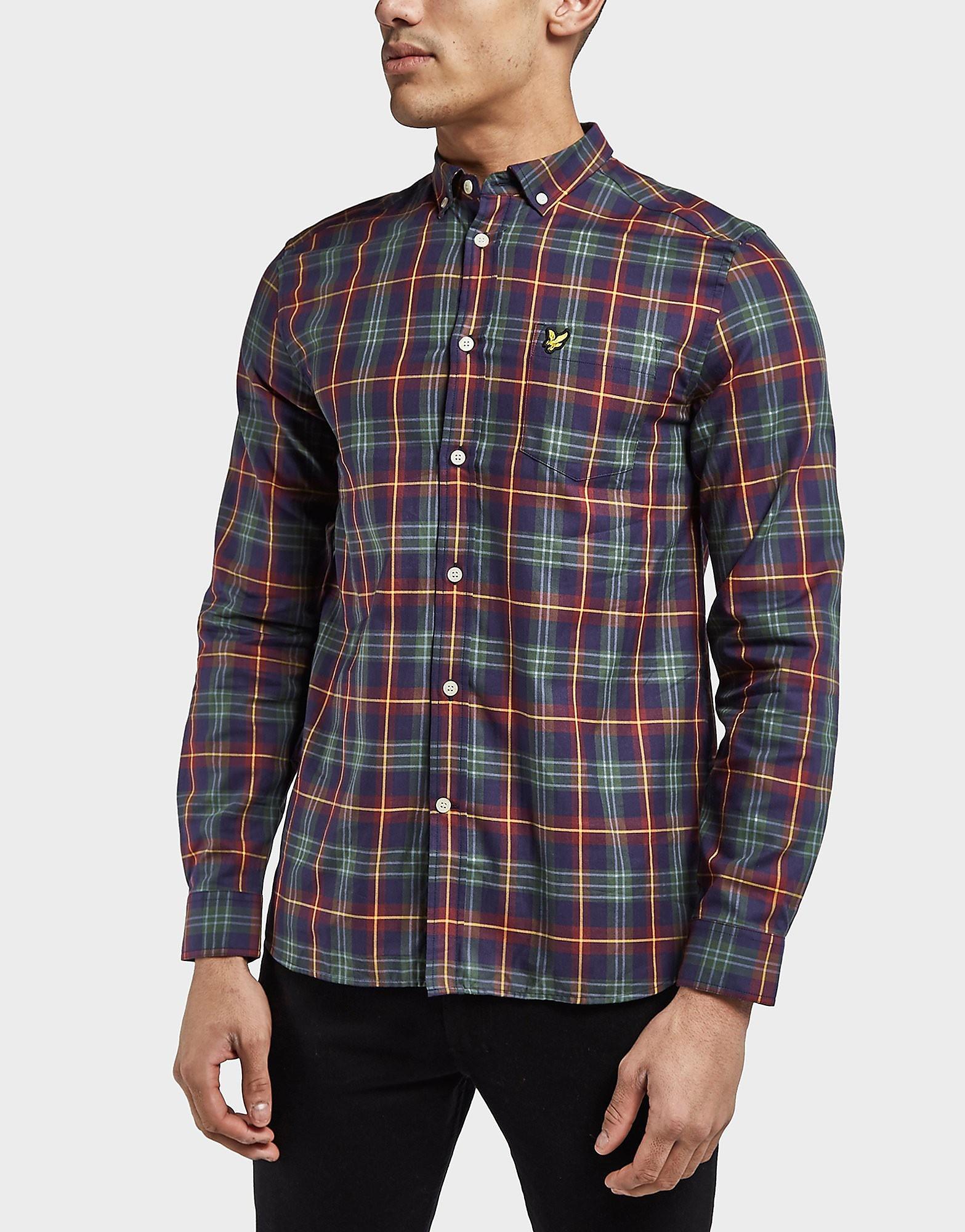 Lyle & Scott Check Long Sleeve Shirt - Exclusive