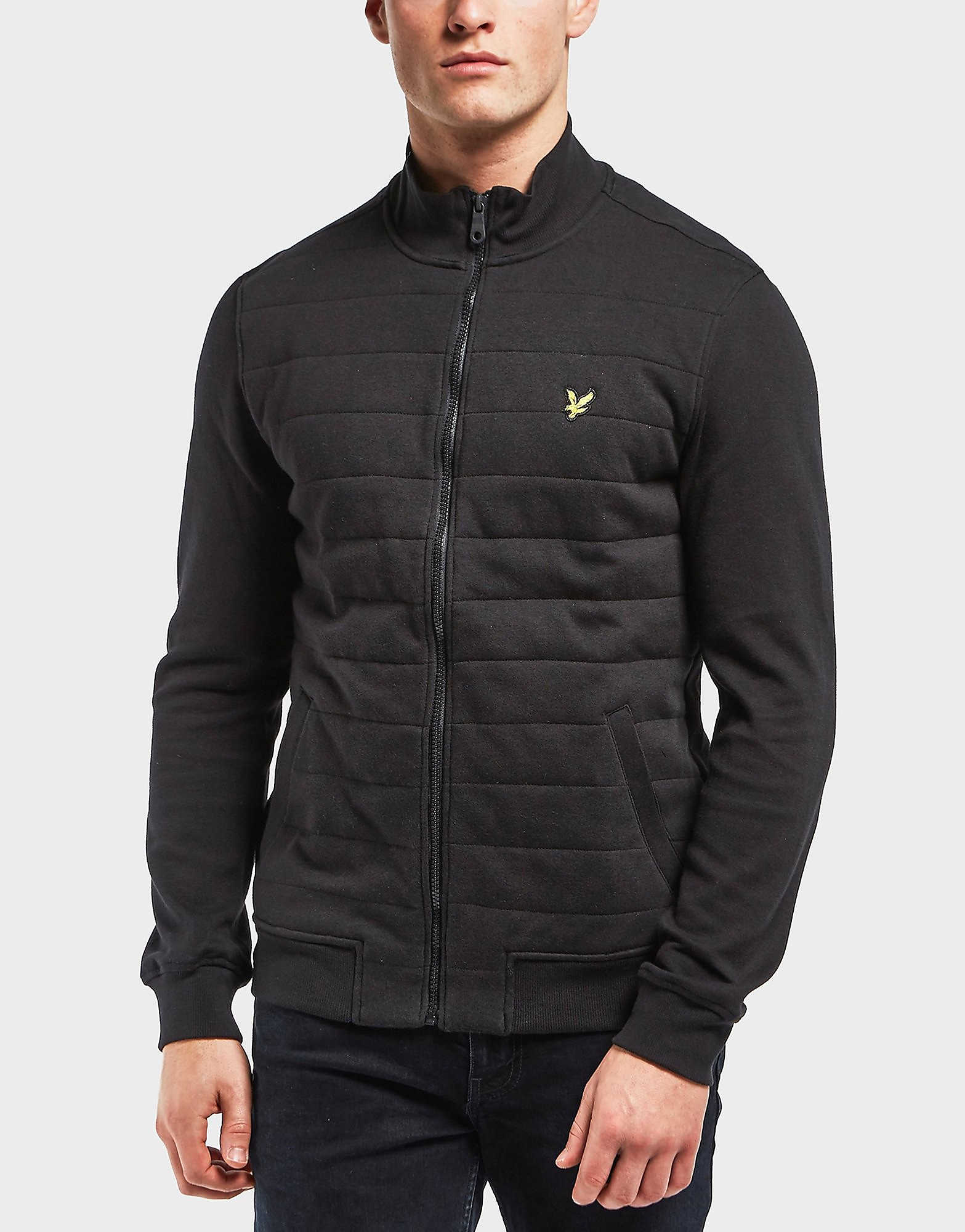 Lyle & Scott Wadded Funnel Track Top