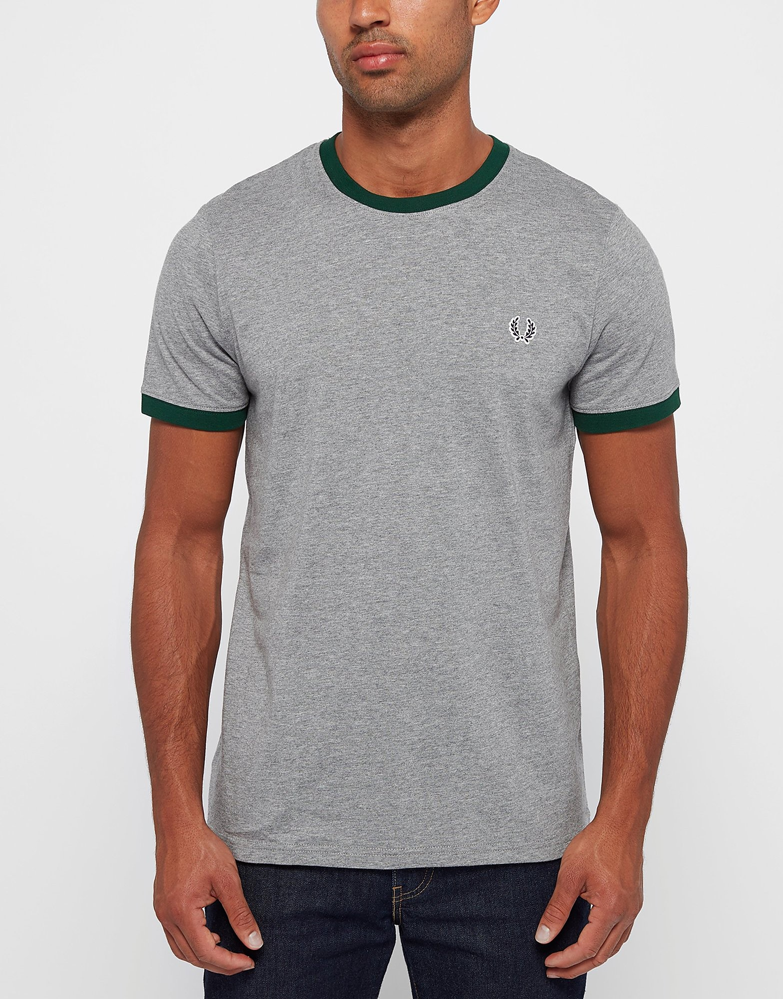 Fred Perry Ringer Crew T-Shirt
