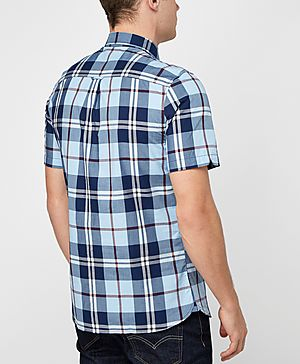 Fred Perry Bold Check Long Sleeve Shirt