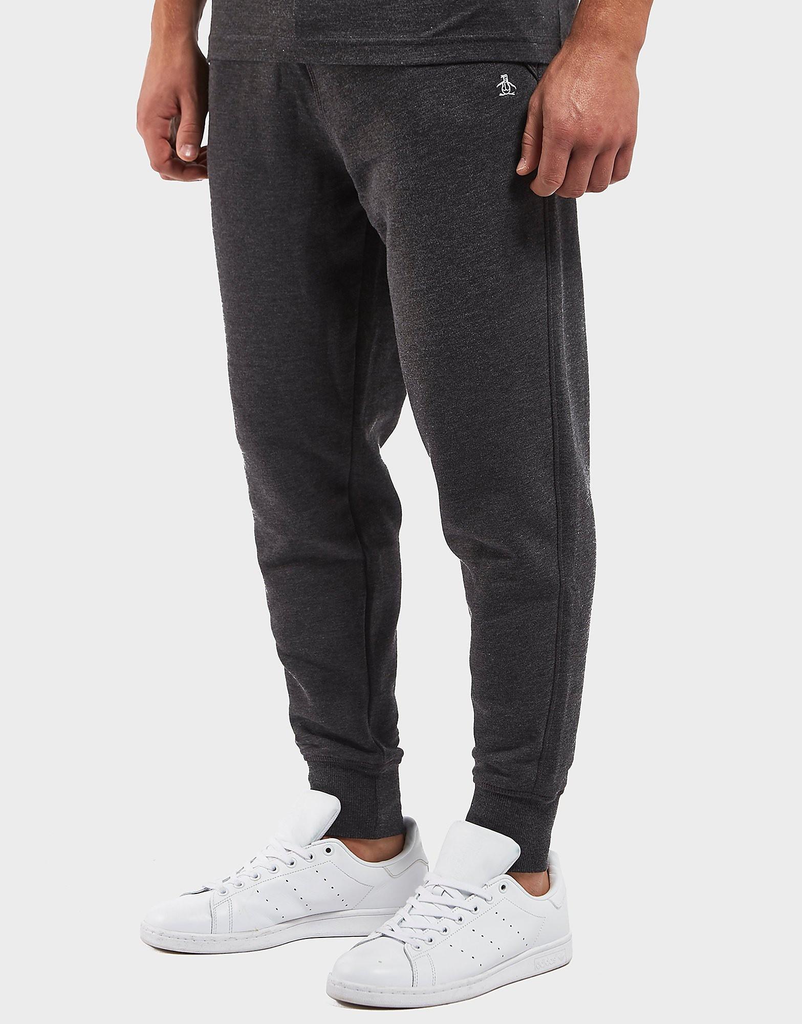 Original Penguin Slim Fleece Track Pants - Exclusive