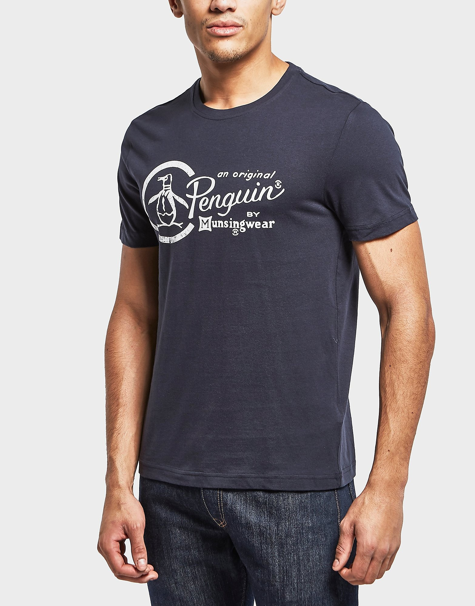 Original Penguin Combo Logo Short Sleeve T-Shirt - Exclusive