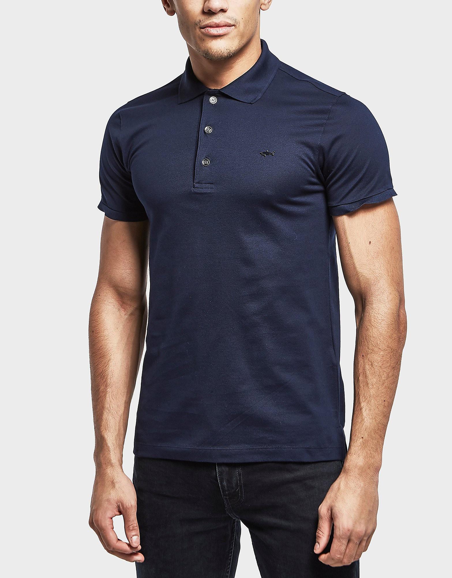 Paul and Shark Metal Shark Short Sleeve Polo Shirt