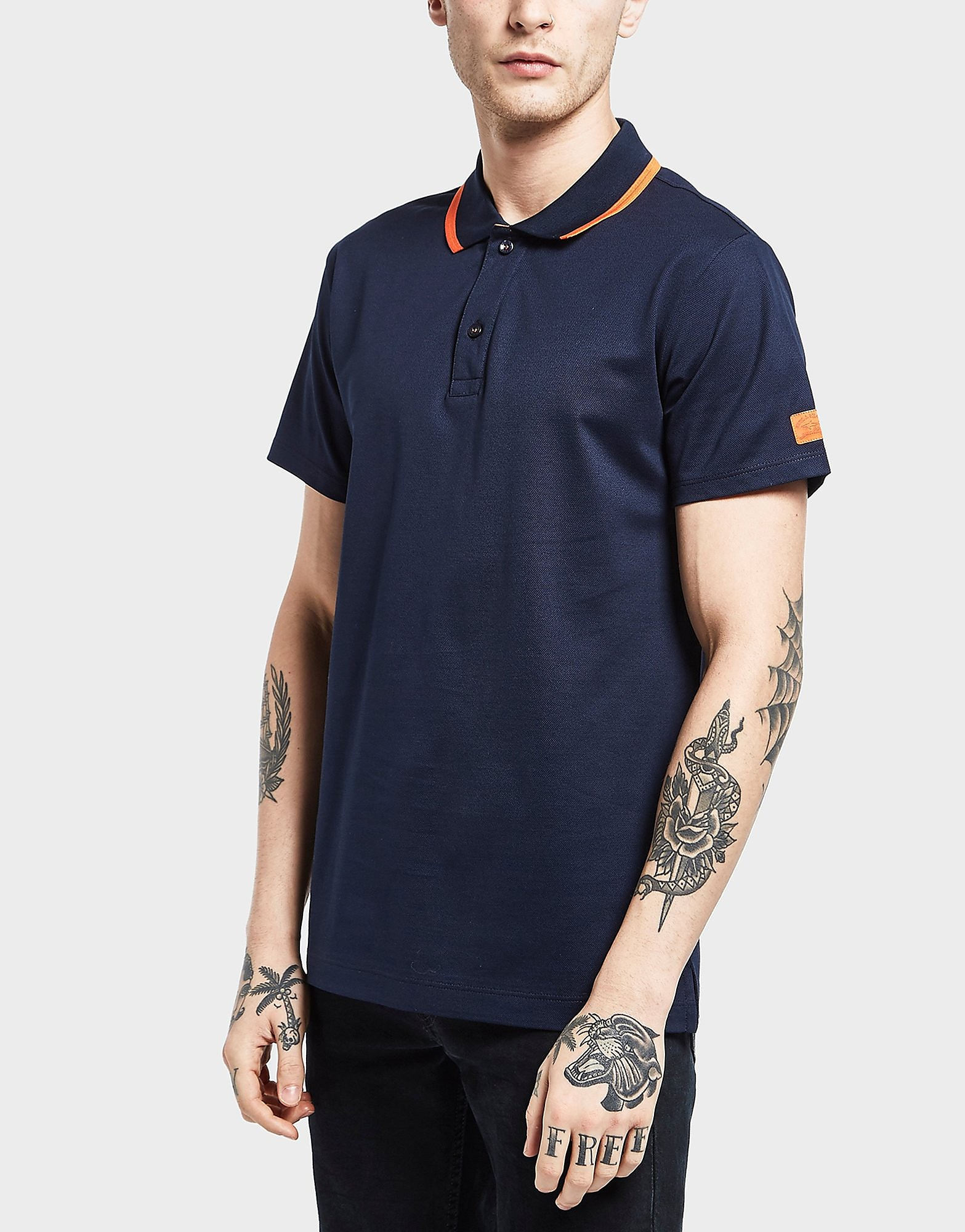 Paul and Shark Original Trim Short Sleeve Polo Shirt