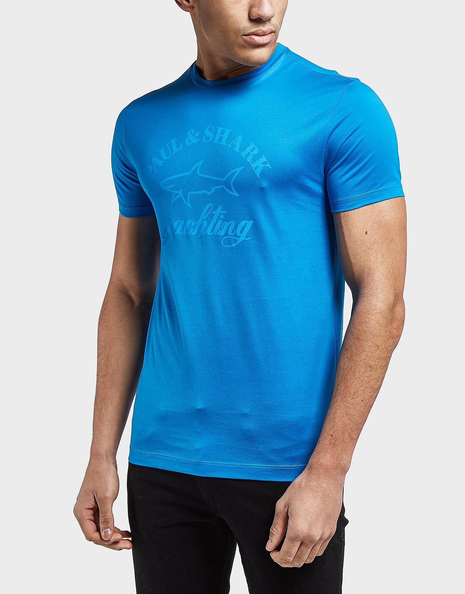 Paul and Shark Short Sleeve Tonal Logo T-Shirt