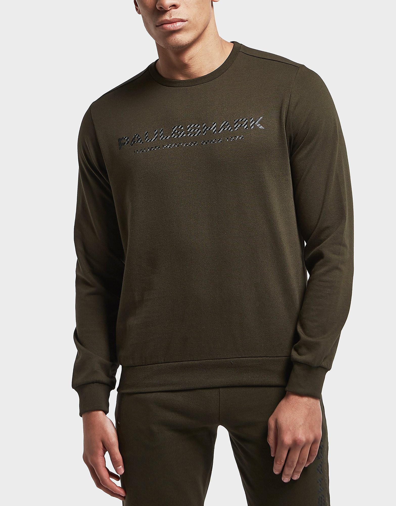 Paul and Shark Carbon Logo Sweatshirt