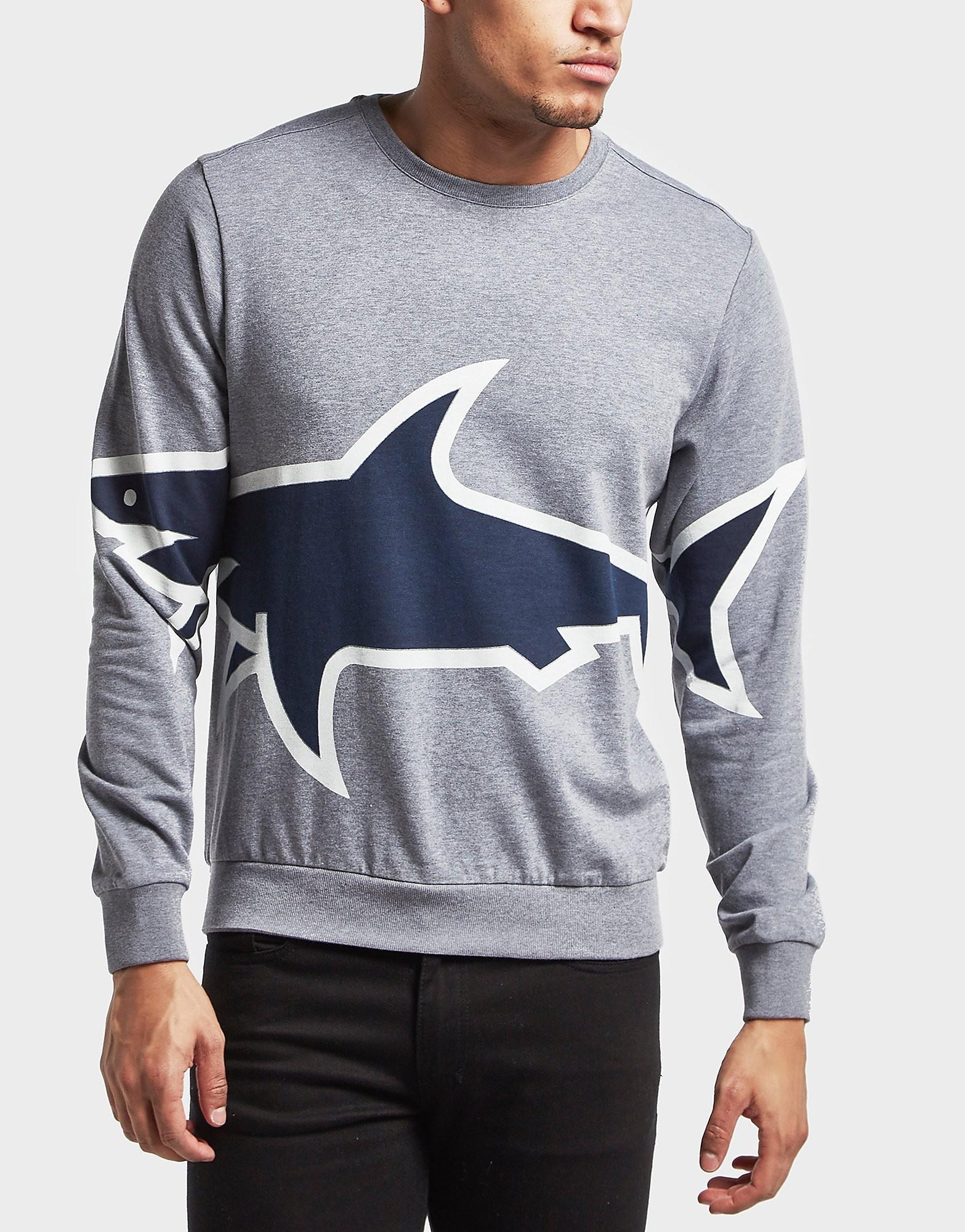 Paul and Shark Oversized Shark Sweatshirt