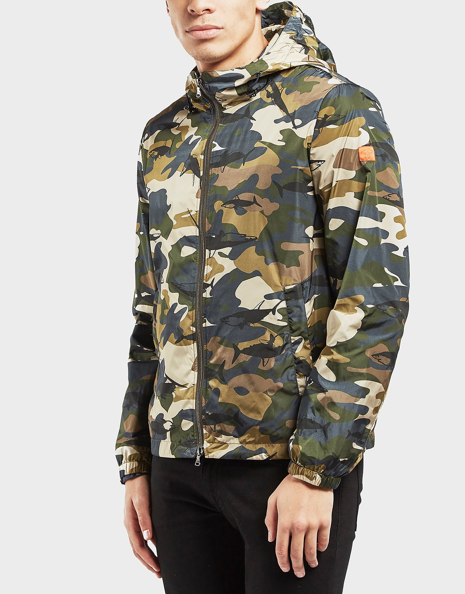 Paul and Shark Shark Camoflauge Lightweight Jacket