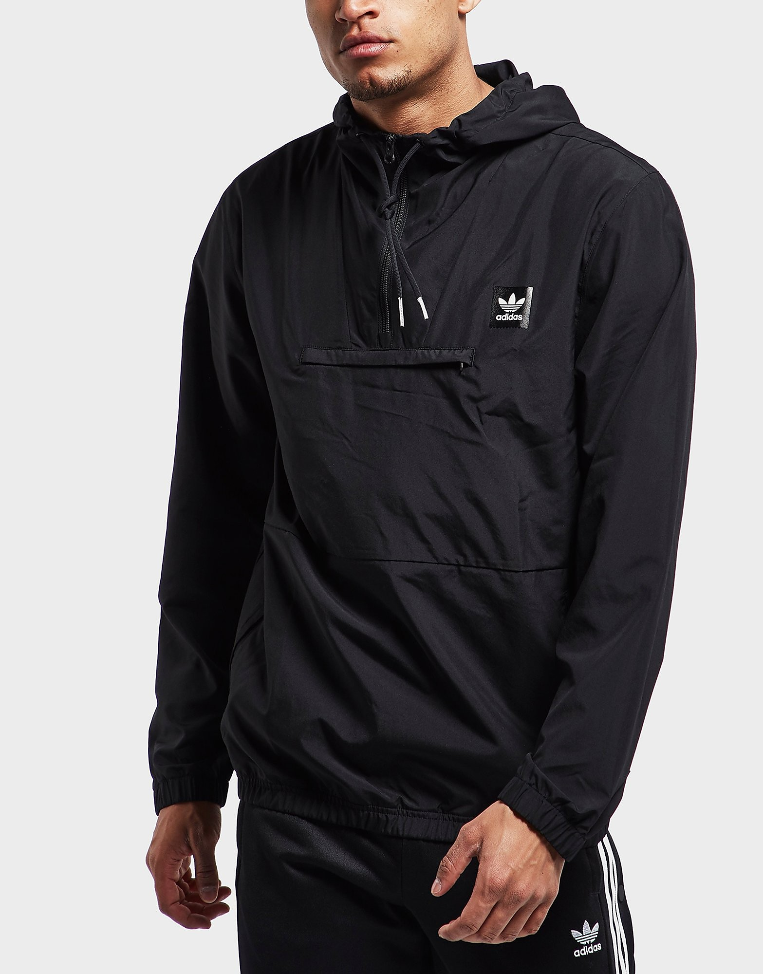 adidas Originals Half Zip Hip Lightweight Jacket