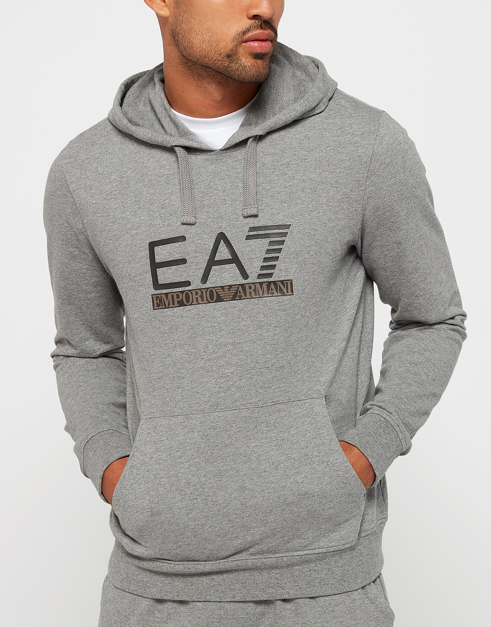 Emporio Armani EA7 Over head Logo Hoody - Exclusive