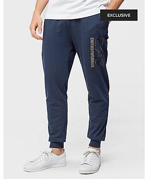 Emporio Armani EA7 Leather Cuff Pant - Exclusive